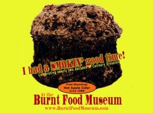 Burnt Food Museum Logo
