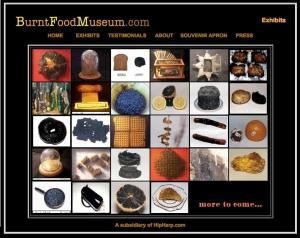 Burnt Food Museum Exhibits