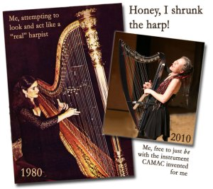 Honey, I Shrunk the Harp!