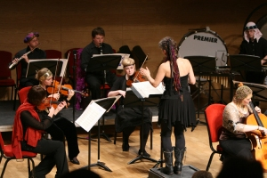 DHC Conducts ensemble